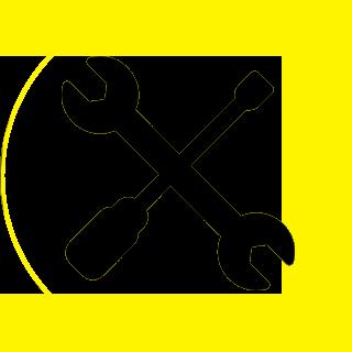 Icona riparazione carrozzeria